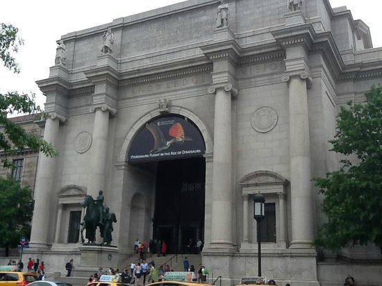 American Museum of Natural History: The main entrance across from Central Park