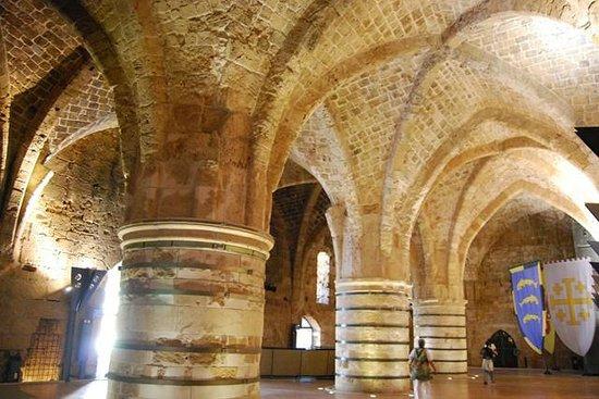 Crusader Fortress: Sala