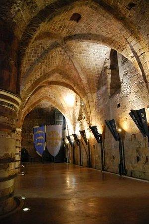 Crusader Fortress: Bóvedas góticas