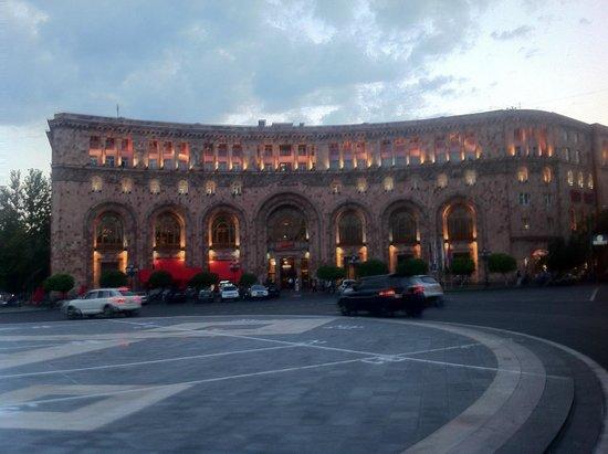 Armenia Marriott Hotel Yerevan: l'hotel de jour