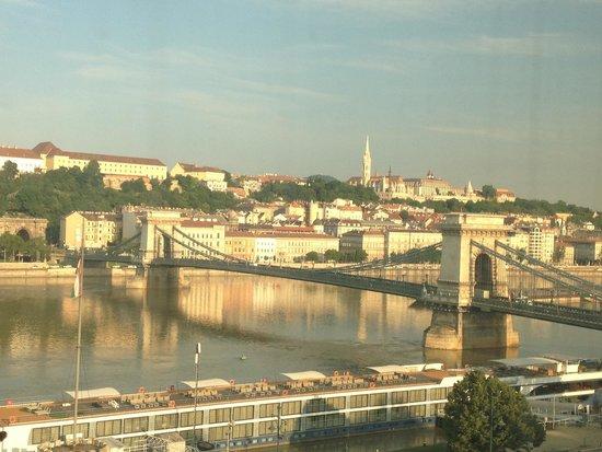 Sofitel Budapest Chain Bridge: View from my room