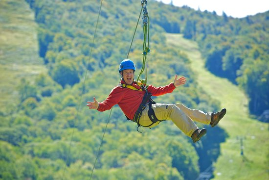 Mount Sunapee, NH: Two-hour Guided Canopy Zipline Tour