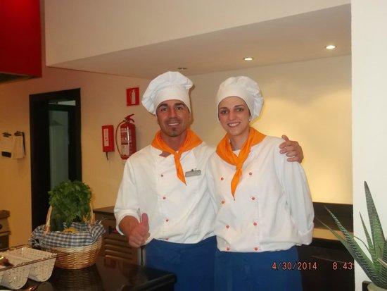 Aparthotel Ferrera Blanca : les cuisto super sympa