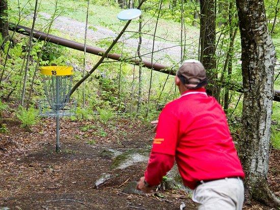 Mount Sunapee, NH: 18-hole Pro length disc gold course