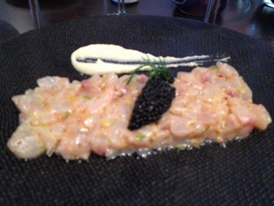 Les trois petits: Seafood appetizer - excellent