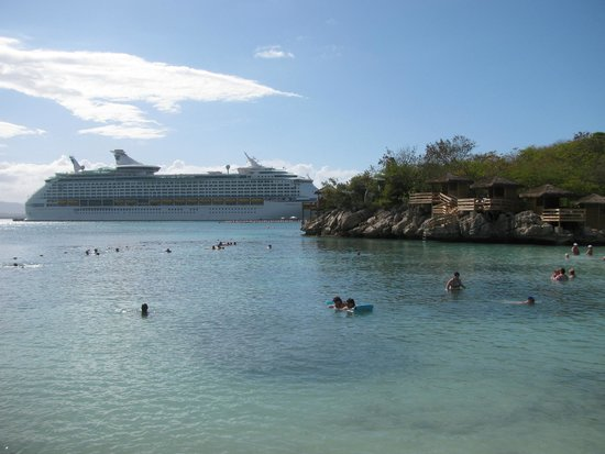 Labadee: View from our favourite beach areas