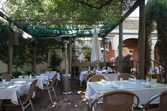 Della Santina's Trattoria: View of the patio