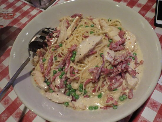 Chicken Carbonara Picture Of Buca Di Beppo Italian