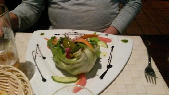 Ristorante Il Siciliano: греческий салат