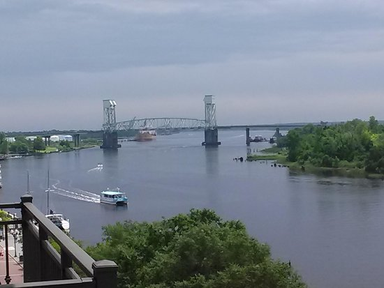 Hilton Wilmington Riverside: View of the river.
