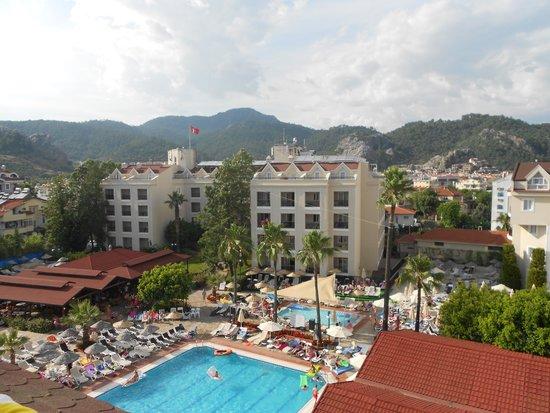 Julian Club Hotel: View from balcony