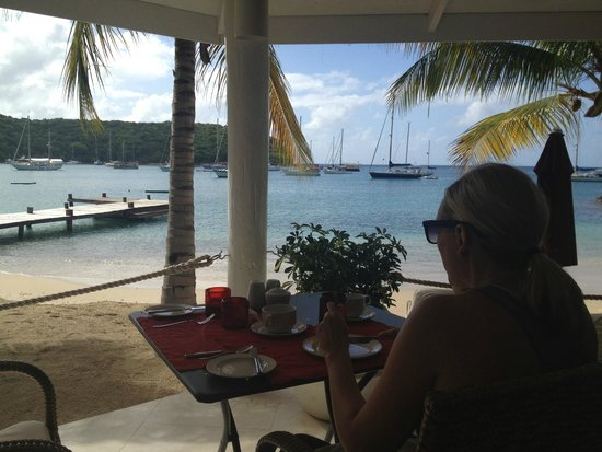 The Inn at English Harbour : Breakfast with a view!