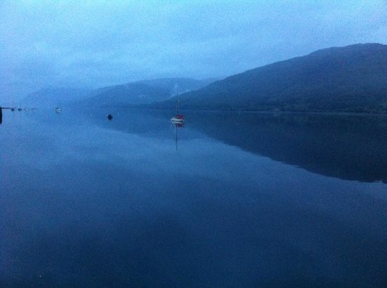 Crannog Seafood Restaurant: view from the window