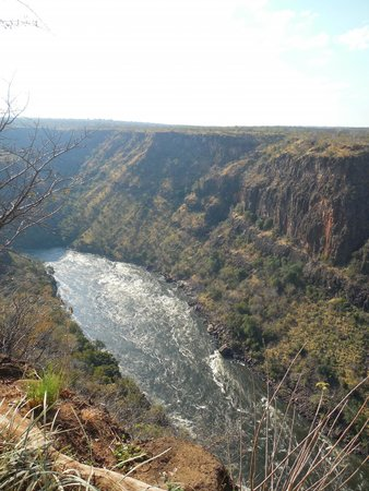 Gorges and Little Gorges Lodge: View of the Zambezi River