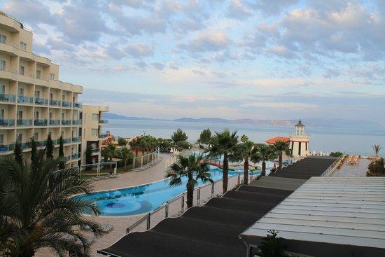 Sealight Resort Hotel: View from room 2422
