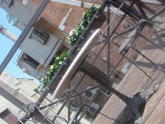 Hotel Campiello: terrazzino privato