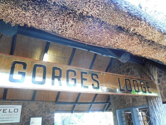 Gorges and Little Gorges Lodge: Reception area