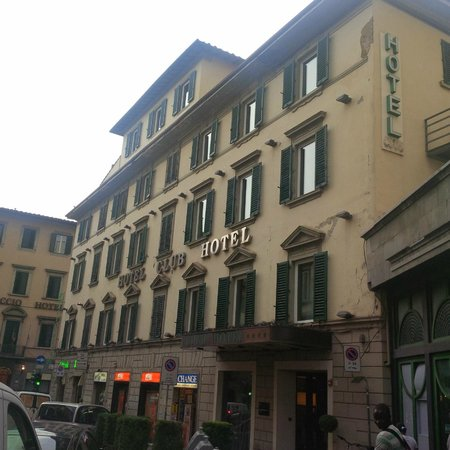 Hotel Club Florence: Outside view