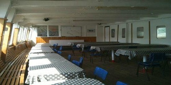 ICC-Egremont, Salcombe: Dining room , Galley