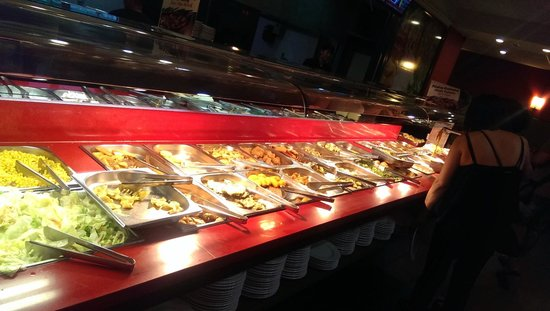 Restaurant Wok Gran Siglo : choice of food