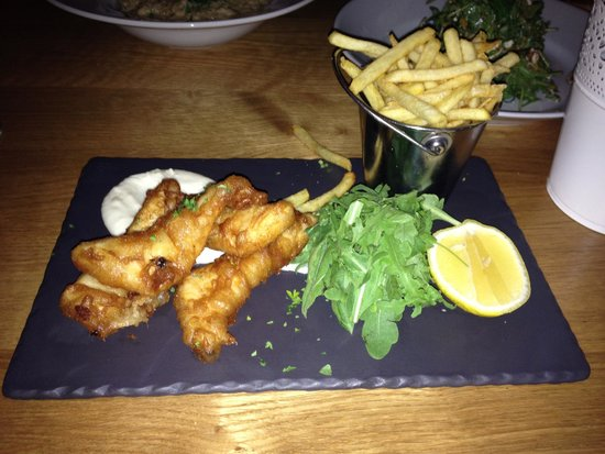 The Kitchen Brasserie : Fish & Chips