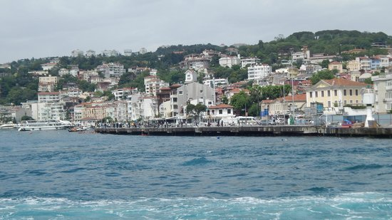 Bosphorus Strait: Another view of shore