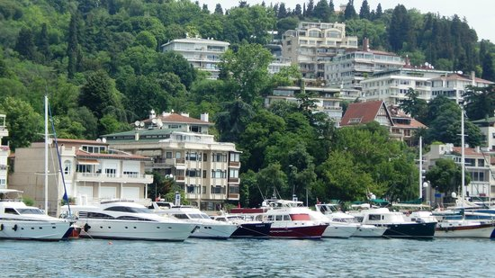 Bosphorus Strait: Shoreline view