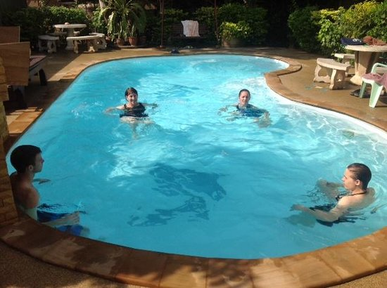 Pool at Riverside House