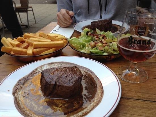 Cafe Loetje: The best beef steak in Amsterdam.