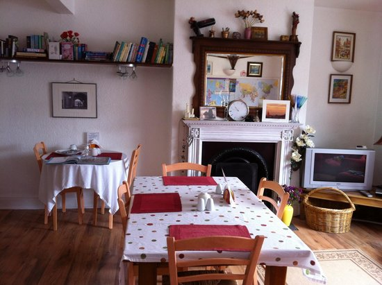 Heathercroft B&B: Lovely bright breakfast room