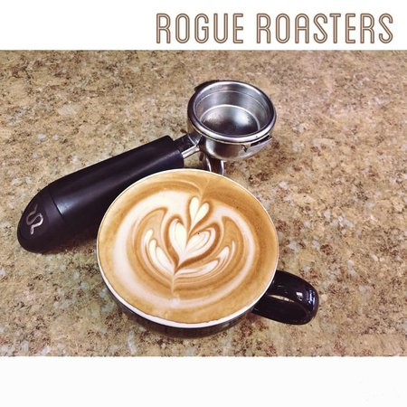 Rogue Coffee Roasters: let us put some art in YOUR cup :)