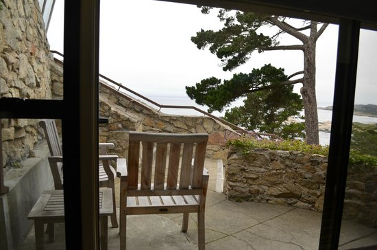 Hyatt Carmel Highlands: View of Patio