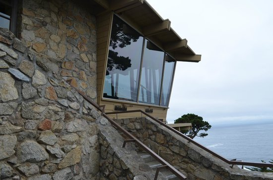 Hyatt Carmel Highlands: Pacific's Edge Restaurant (view from our patio)