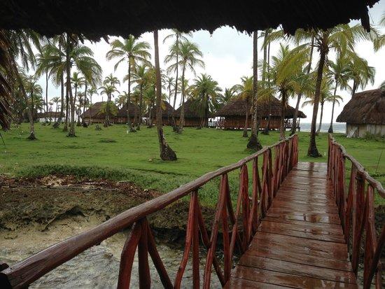 Yandup Island Lodge: Island Grounds