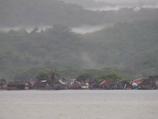 Yandup Island Lodge: Village from Lodge