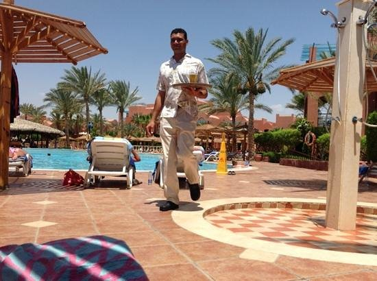 Club Magic Life Sharm el Sheikh Imperial: Thanks  for the fantastic service,especially Mo who brough beer all day long.