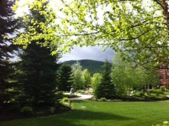 The Whiteface Lodge: The view from our porch