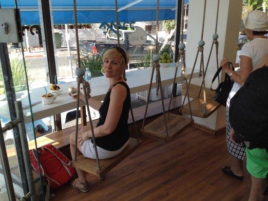 Tamara Yogurt : Swings seats