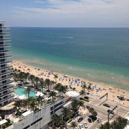 W Fort Lauderdale: View from balcony on 21st floor