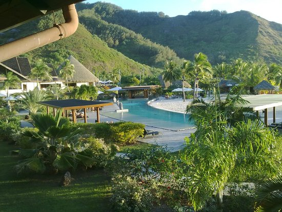 InterContinental Moorea Resort & Spa: vista desde habitacion 274