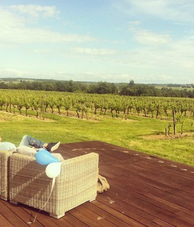 L'Autre Vie: A blend of boutique hotel & B&B charm, surrounded by Bordeaux's vineyards: Sun and vines