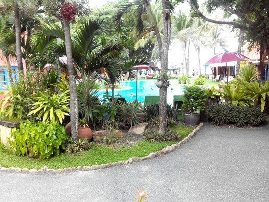Baan Samui Resort: A view from balcony