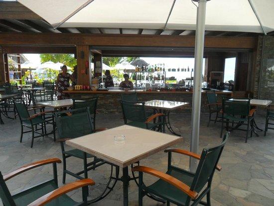 InterContinental Moorea Resort & Spa: bar de la piscina