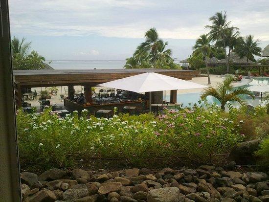 InterContinental Moorea Resort & Spa: vista desde habitacion 274