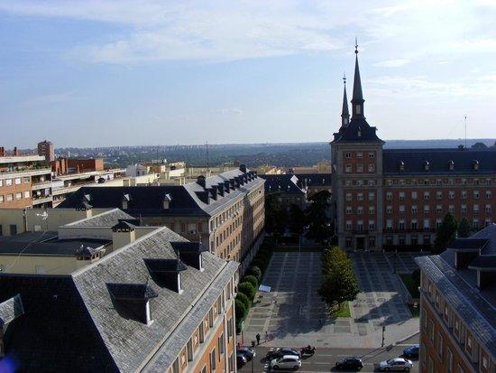 Hotel Exe Moncloa: Вид с терассы (10 этаж)