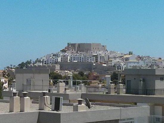 Agora Spa & Resort: Vista del castillo