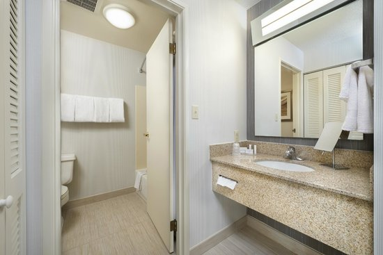 Courtyard South Bend Mishawaka: Guest Bathroom