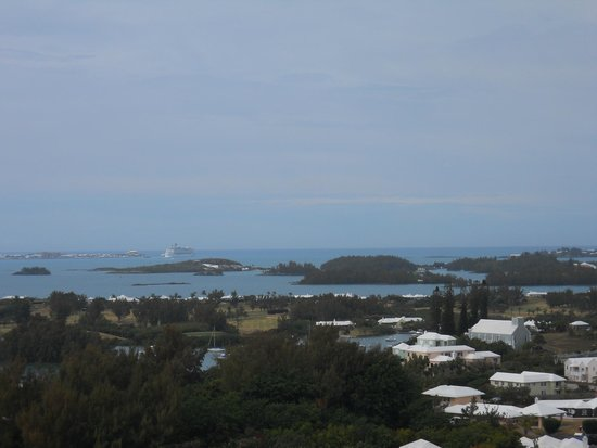 Fairmont Southampton: View from the balcony of the Naval dockyard