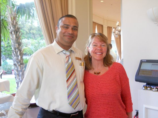 Fairmont Southampton: Our waiter, Victor.  We sat in his section every morning.