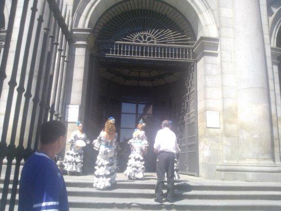 Real Basilica de San Francisco el Grande : вход